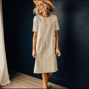 Roolee California Stripe Dress